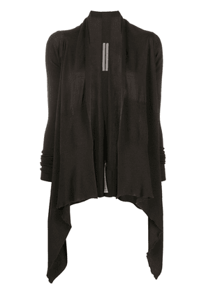 Rick Owens knitted open-front cardigan - Brown