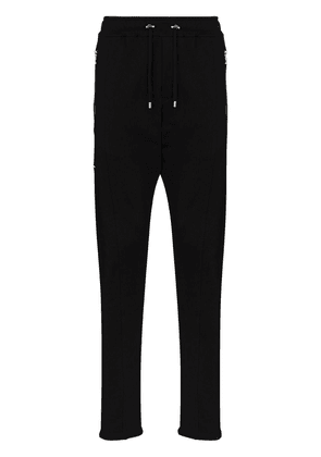 Balmain 3D effect logo track trousers - Black