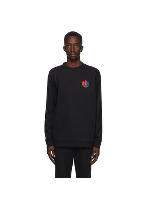 adidas Originals Black 3D Trefoil Sweatshirt