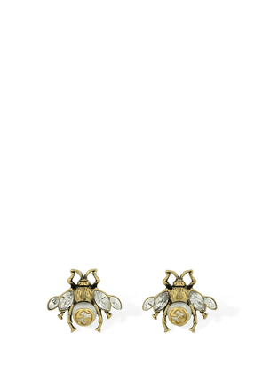 Bee Motif Stud Earrings