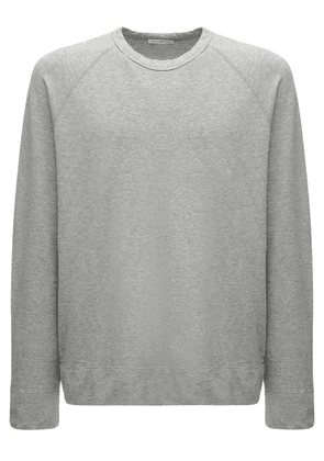Cotton Raglan Sweatshirt