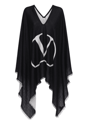 Virgin Wool Blend Cape