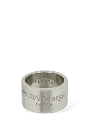 Engraved Logo Thick Ring