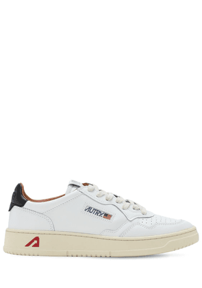 Leather Low Sneakers