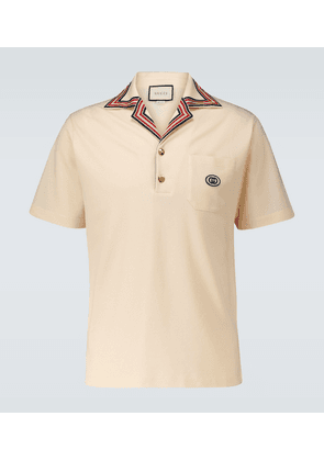 Polo shirt with Interlocking G