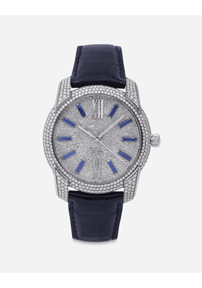 Dolce & Gabbana Watches - GOLD WATCH WITH DIAMOND PAVÉ BLUE/WHITE GOLD