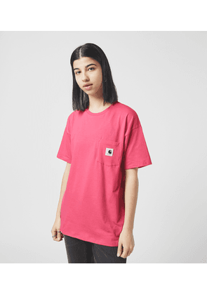 Carhartt WIP Carrie Pocket T-Shirt, Pink/PNK