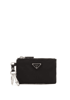 Prada - Triangle Logo-plaque Nylon Purse - Mens - Black