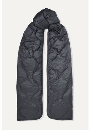 Isabel Marant - Bremon Quilted Shell Scarf - Charcoal