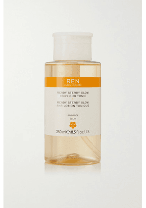 REN Clean Skincare - Ready Steady Glow Daily Aha Tonic, 250ml - one size