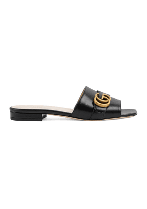 Women's slide with Double G