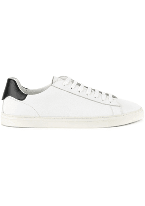 Dsquared2 minimal lace-up sneakers - White