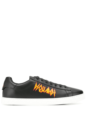 Dsquared2 logo low-top sneakers - Black
