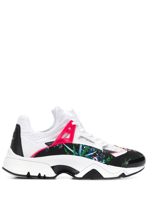 Kenzo Sea Lily Sonic low-top sneakers - White
