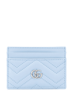 Gucci GG Marmont cardholder - Blue