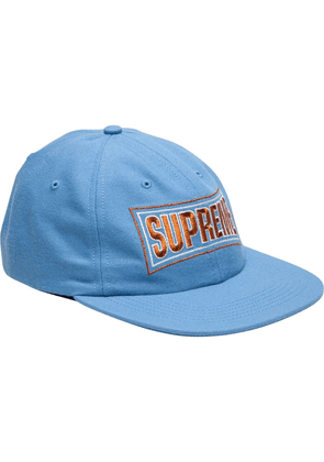 Supreme 6-Panel cap - Blue