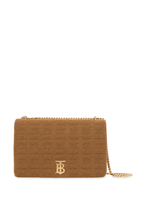 Burberry extra large quilted towelling Lola bag - NEUTRALS