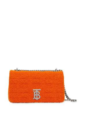 Burberry small Lola quilted towelling bag - ORANGE