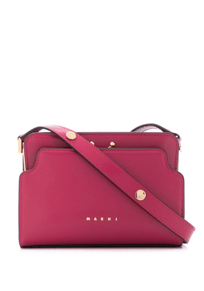 Marni Trunk Reverse shoulder bag - PINK