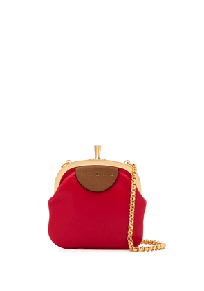 Marni colour-block crossbody bag - Red