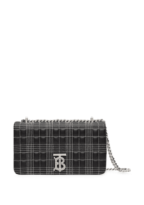 Burberry small quilted tri-tone Lola bag - Black