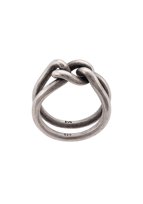 M. Cohen curb band ring - SILVER