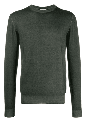Etro long-sleeve fitted sweater - Green