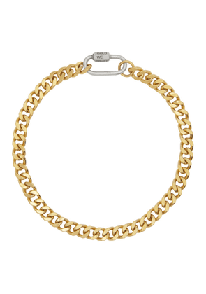 IN GOLD WE TRUST Gold Cuban Link Necklace