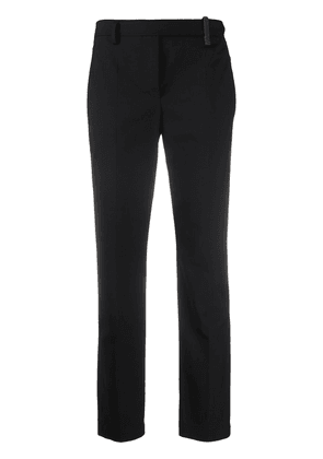 Brunello Cucinelli concealed front trousers - Black