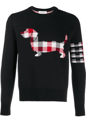 Thom Browne Hector Icon jacquard jumper - Blue