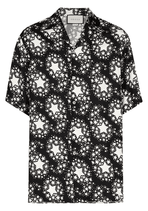 Gucci star print shirt - Black