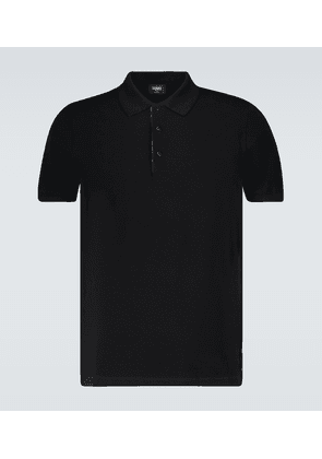 Polo shirt with FF placket