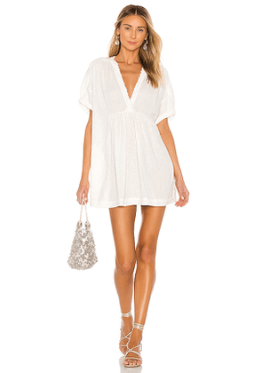 Free People Getaway With Me Tunic in Ivory. Size S.