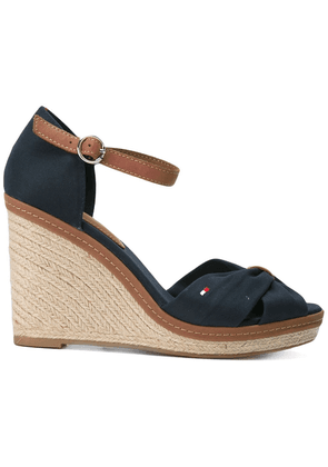 Tommy Hilfiger wedged sandals - Blue