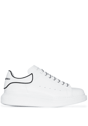 Alexander McQueen oversized leather sneakers - White