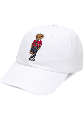 Polo Ralph Lauren embroidered logo cap - White