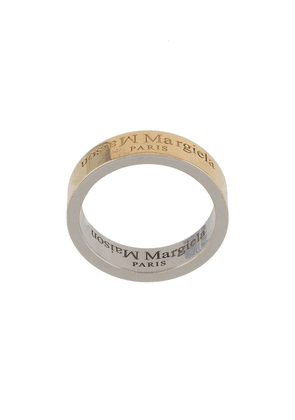 Maison Margiela logo ring - GOLD