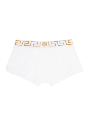 Versace Underwear White Medusa Low-Rise Boxer Briefs