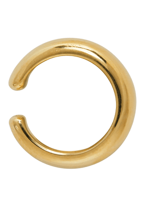 Tom Wood Gold Thick Single Ear Cuff