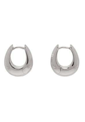 Tom Wood Silver Small Ice Hoop Earrings