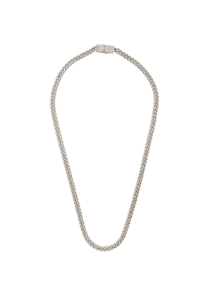 Tom Wood Silver Thin Rounded Curb Necklace