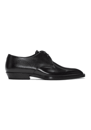 Saint Laurent Black Wyatt Derbys