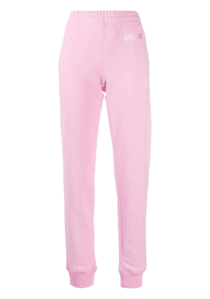 Moschino Couture! slim-fit track pants - PINK