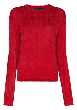 Polo Ralph Lauren cable-knit jumper - Red