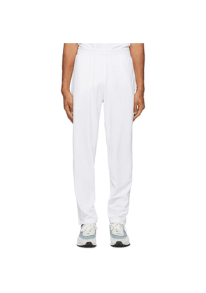 Nike White Velour NikeCourt Tennis Lounge Pants