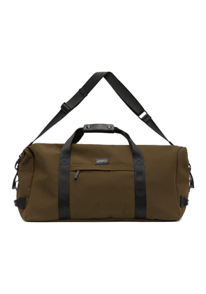 Saturdays NYC Khaki Nylon Norfolk Duffle Bag