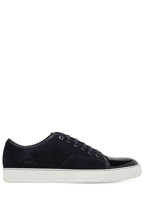 Suede & Leather Low Top Sneakers