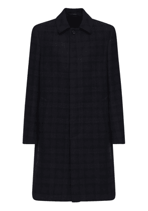 Single Breast Wool Coat