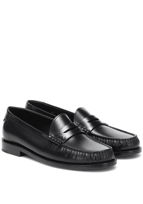 Le Loafer leather slippers
