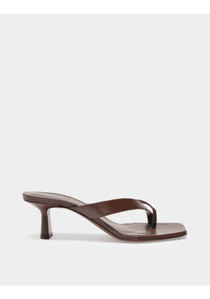 Sandals Florae in Brown Leather